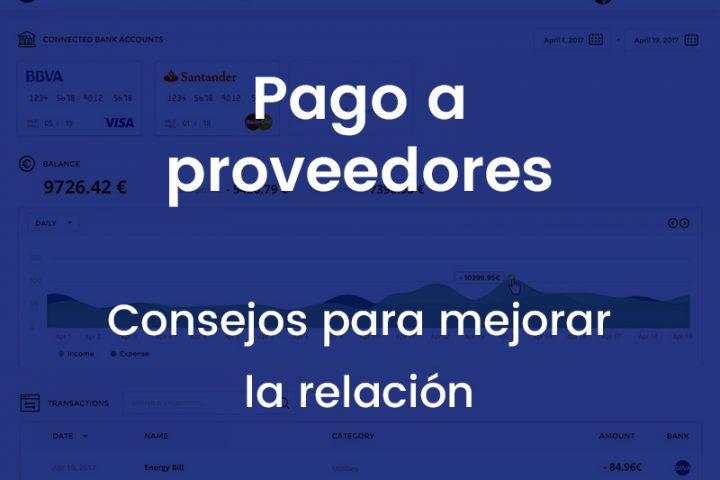 control relacion negociacion relacion proveedores