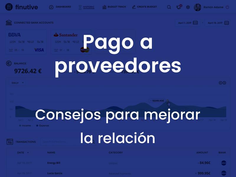 Pago a proveedores: gestión de los pagos de la empresa – Finutive
