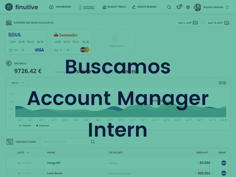 Empleo: Buscamos Account Manager Intern