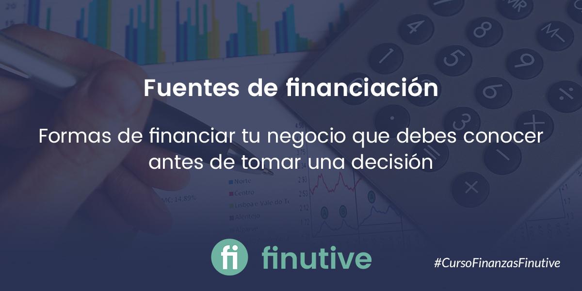 #3 Curso de Finanzas: Fuentes de Financiación
