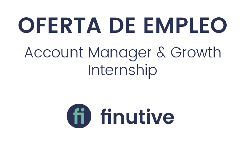 Empleo: Buscamos Account Manager & Growth Internship