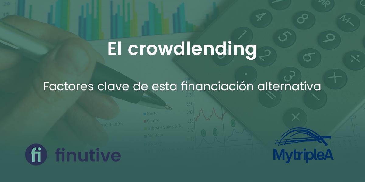 Factores clave del crowdlending como financiación alternativa