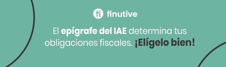 ¿Conoces la importancia del epígrafe del IAE ?
